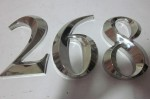 3D stainless steel signs