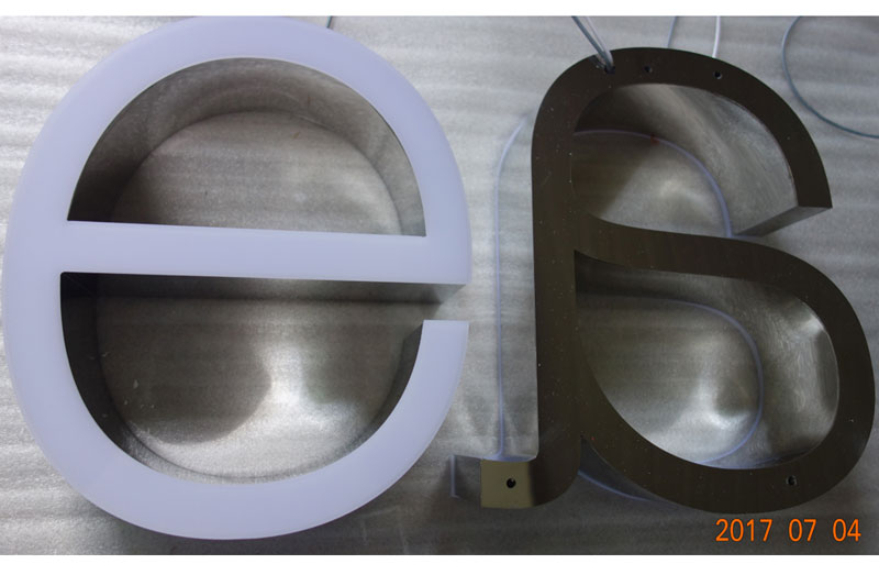 Illuminated signs, Illuminated letters,Illuminated Channel Letters