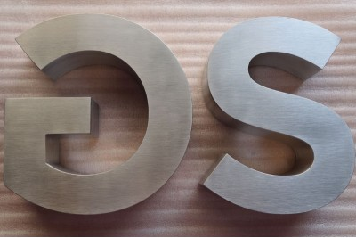 Stainless steel signs, stainless steel letters