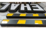 Front lit aluminum letters